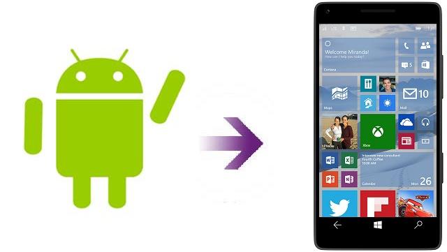 Cài đặt ứng dụng Android lên smartphone Windows 10 Mobile