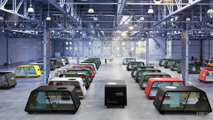 Những chiếc xe thuộc dự án của IDEO