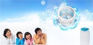 Tính năng vệ sinh lồng giặt trên máy giặt Toshiba