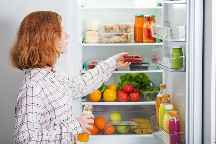 với công nghệ Neuro Inverter trên tủ lạnh Mitsubishi sẽ giúp thực phẩm được bảo quản tốt hơn