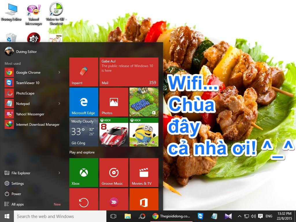 Hướng dẫn dùng laptop Windows 10 làm điểm phát Wifi 'tẹt ga' cho thiết bị khác