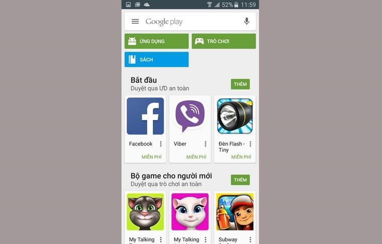 Bây giờ thì bạn đã có thể tải bất kỳ ứng dụng, trò chơi miễn phí từ CH Play.