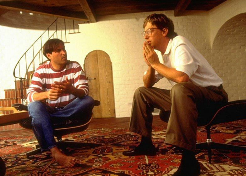 Jobs và Gates từng hợp tác