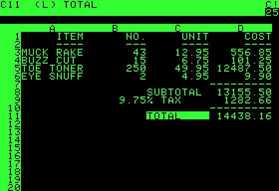Ứng dụng đầu tiên cho Apple II