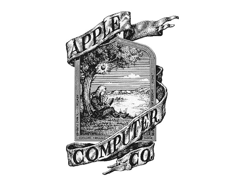 Logo Apple thời kì đầu!