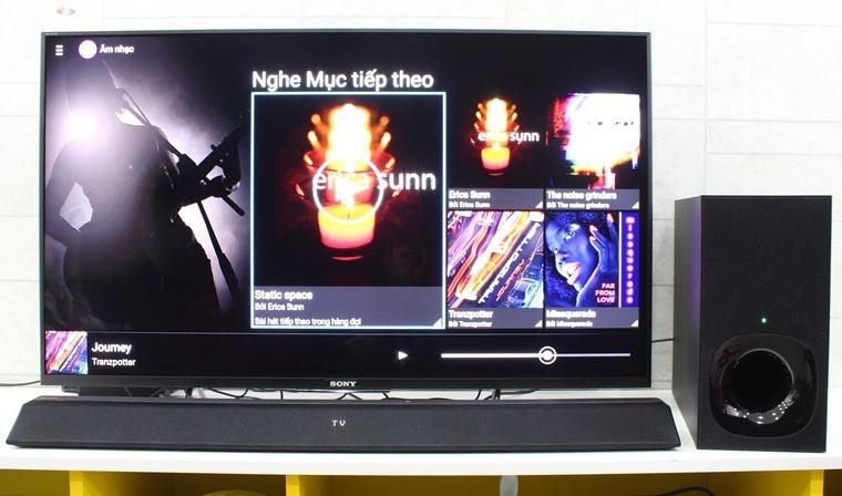 Thỏa sức nghe nhạc trên tivi