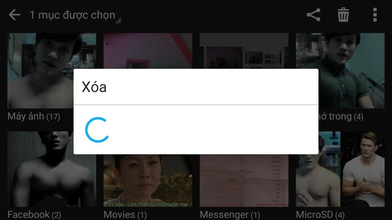 Không quá khó để khôi phục hình ảnh đã bị xóa trên thiết bị Android
