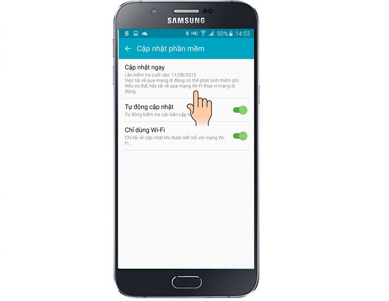 Cập nhật các thiết bị Samsung