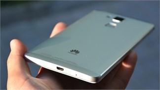 Rò rỉ thiết kế trong thực tế của phablet Huawei cao cấp