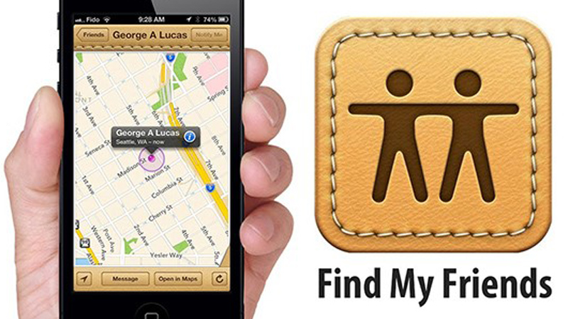 Find my friends android and iphone