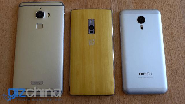 OnePlus 2, LeTV Le Max và Meizu MX5