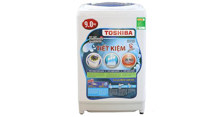 Nhãn năng lượng trên máy giặt