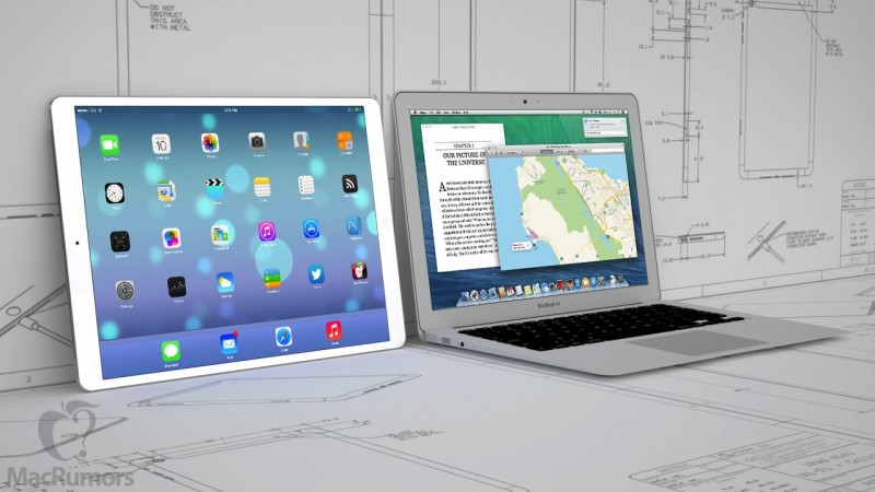 iPad Pro so với Macbook Air