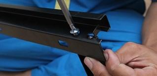 Cách lắp đặt tivi treo tường bằng giá treo thẳng