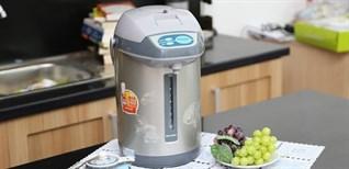 Những lỗi thường gặp khi sử dụng bình thủy điện