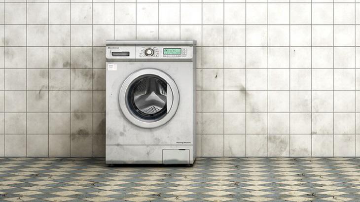 Máy giặt bị ẩm mốc, xuất hiện mùi hôi