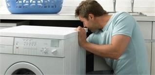 Làm gì khi máy giặt bị rò rỉ nước?