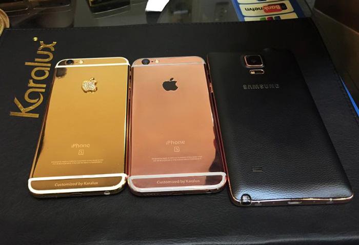 iPhone 6 và 6 Plus màu vàng hồng nhái iPhone 6s