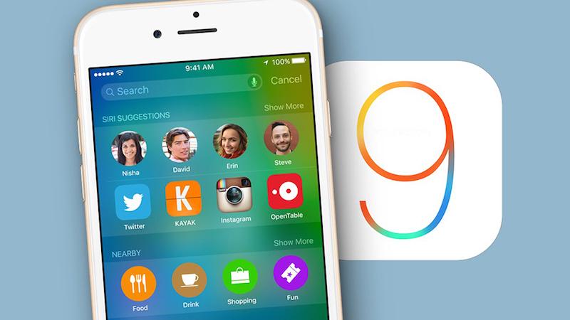 Cách khắc phục lỗi không cập nhật được iOS 9