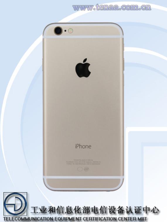 iPhone 6s bị TENAA ghi nhận