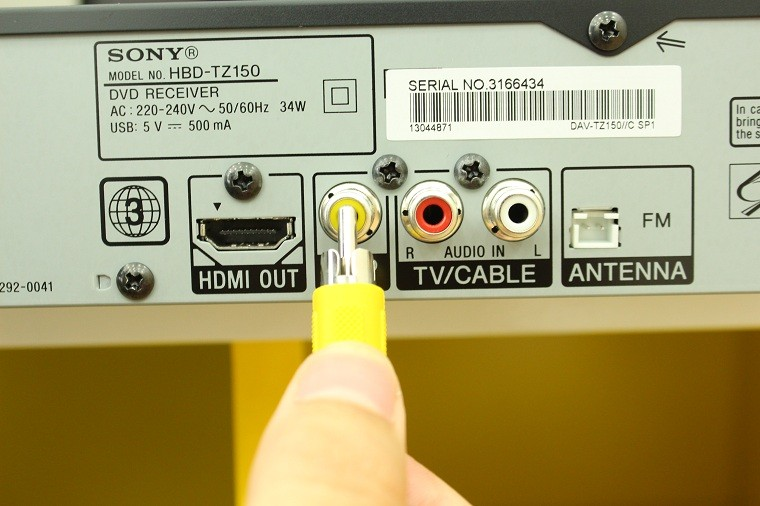 Kiểm tra kết nối của dây hình ảnh