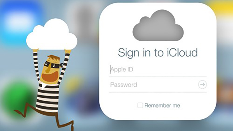 Cẩn thận bị hack iCloud
