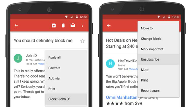 Gmail mạnh tay hơn với tin nhắn rác