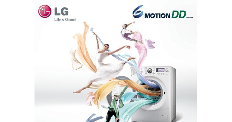 Công nghệ 6 chuyển động của máy giặt LG