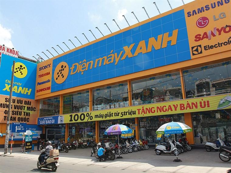 Siêu thị điện máy xanh tại 157 Phan Đăng Lưu, Phường 1, Quận Phú Nhuận, Thành phố Hồ Chí Minh