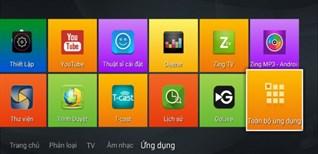 Cách cài đặt ứng dụng ngoài trên Smart tivi Zing TCL Z1 bằng file apk