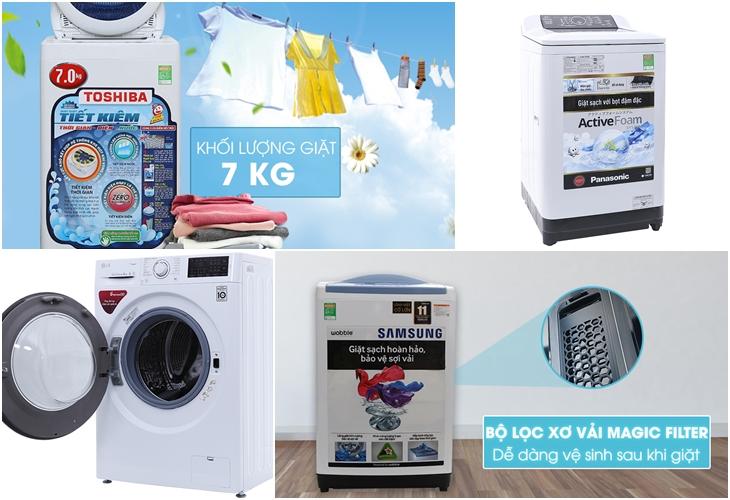 Máy giặt tiện ích
