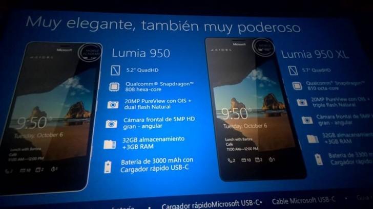 Xuất hiện thiết kế lẫn cấu hình đầy đủ của bộ ba smartphone Lumia mới