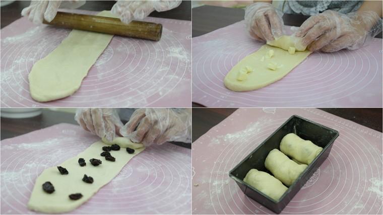 Làm nhân bánh và ủ bột lần 2