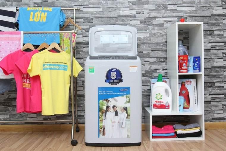 Công nghệ Wobble giặt sạch hiệu quả