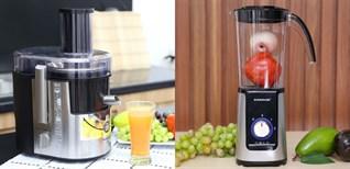 Nên mua máy ép trái cây hay máy xay sinh tố?
