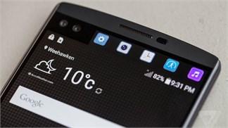 Cận cảnh smartphone hai màn hình, LG V10: sang trọng, cứng cáp và quyến rũ