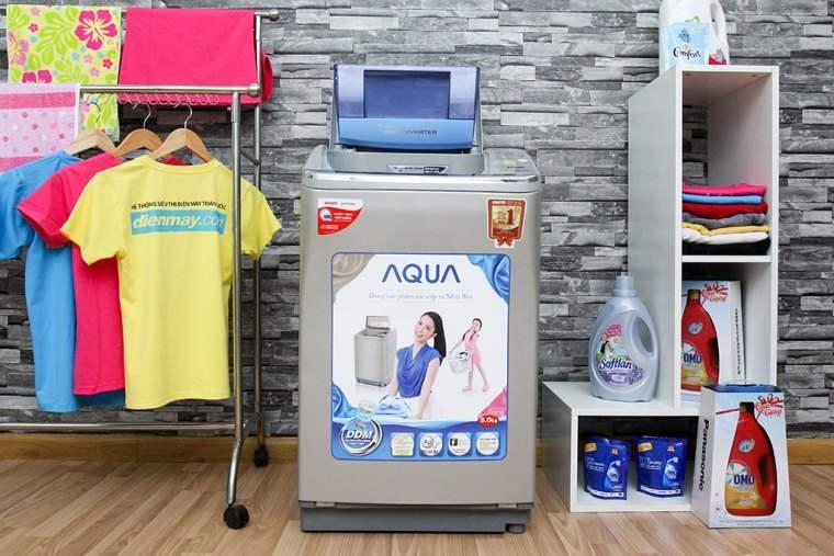 Công nghệ giặt bằng sóng siêu âm mạnh mẽ