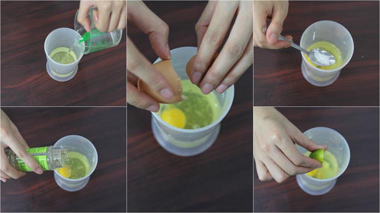 Bước 1 Cho nguyên liệu vào cốc xay Sốt mayonnaise