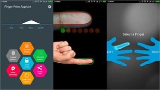 Cài tiện ích miễn phí dùng mở/khóa bằng vân tay cho smartphone Android