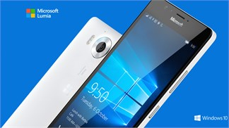 Bộ đôi Lumia 950/950 XL chính thức trình làng, rẻ hơn iPhone 6s/6s Plus