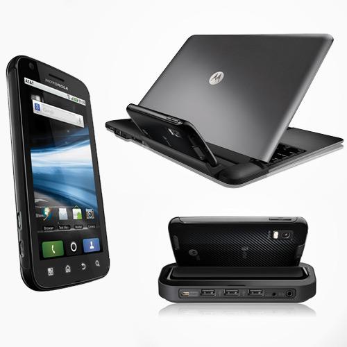 Bộ sản phẩm Dock Station và Laptop Dock tương thích với Motorola Atrix
