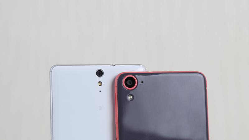 HTC Desire 826 và Sony Xperia C5 Dual Ultra