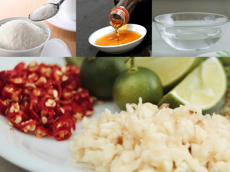 Cách làm nước mắm chua ngọt ngon