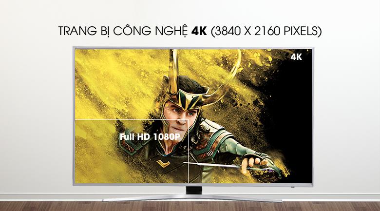 Độ phân giải màn hình 4K trở lên