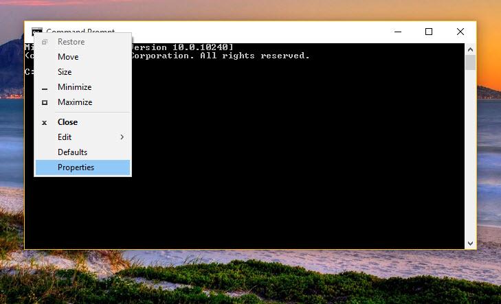 cmd3 - Bật tính năng ẩn trên Windows 10, nhỏ mà hữu dụng