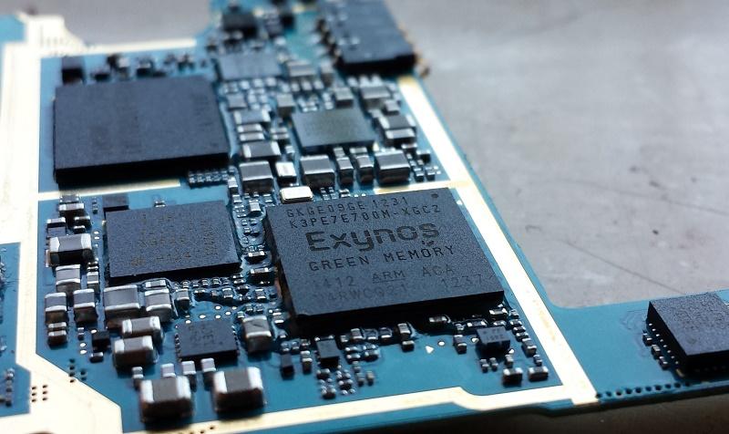 Chip Exynos của Samsug đang ngày càng phát triển