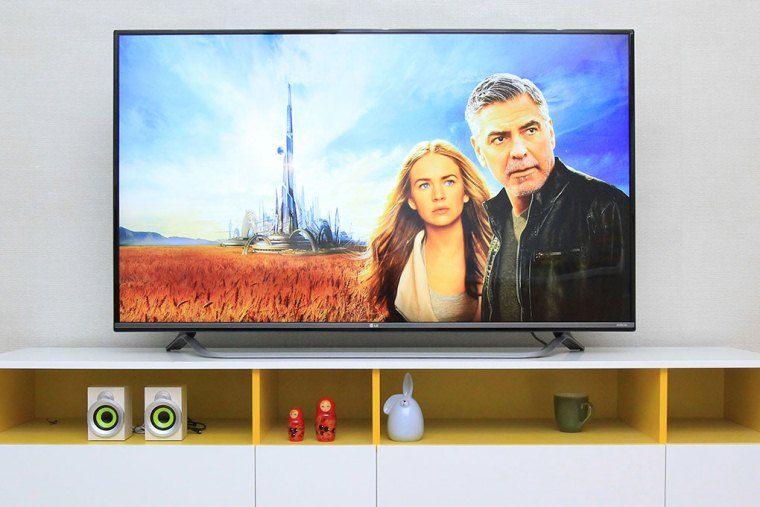Tivi LED với màu sắc trung thực, đẹp mắt