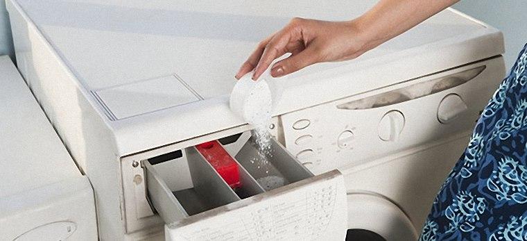 Dùng bột giặt chuyên dụng cho máy giặt
