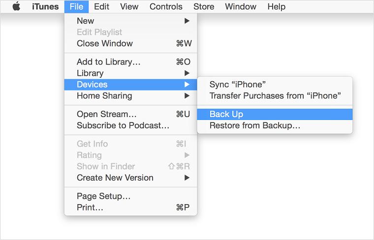 Đồng bộ tất cả các dữ liệu trên iOS với iTunes