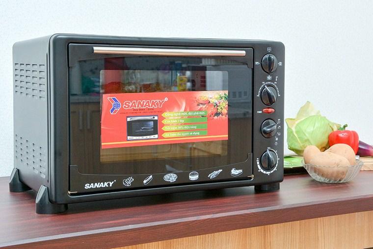 Lò nướng Sanaky VH359S 35 lít – 1.350.000đ